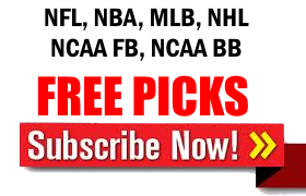 NFL Free Picks, NBA Free Picks, MLB Free Picks, NHL Free Picks, NCAA Football free picks, NCAA Basketball Free Picks